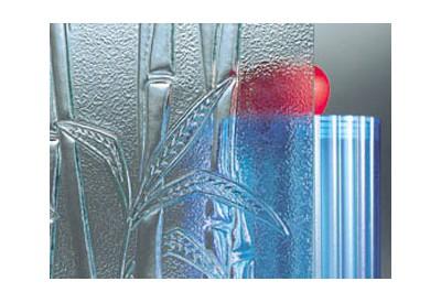 """Verre (4 mm) imprimé """"Bambo"""""""