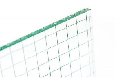 Verre (6mm) Glace armée transparente