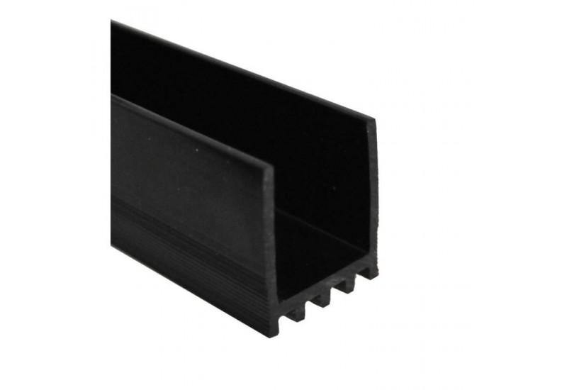 profil polycarbonate pour profil de balustrade vitre en ligne glass online. Black Bedroom Furniture Sets. Home Design Ideas