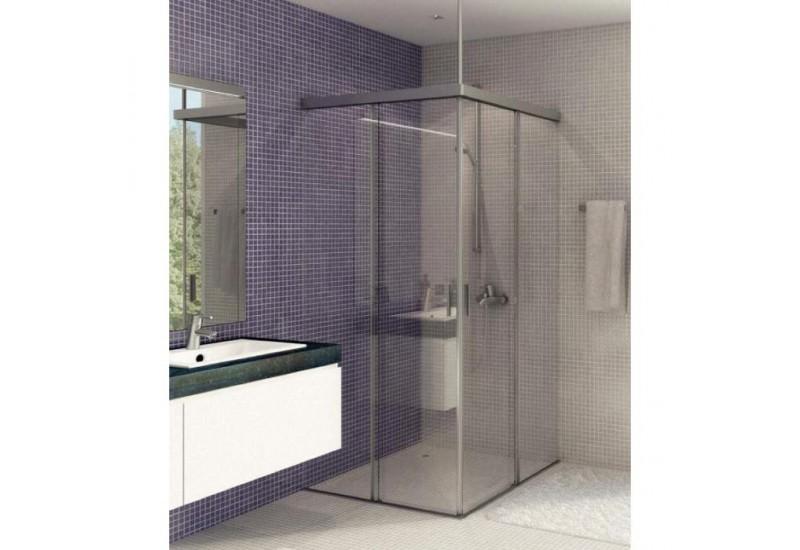 syst me de douche eku banio 40 gfe vitre en ligne glass online. Black Bedroom Furniture Sets. Home Design Ideas