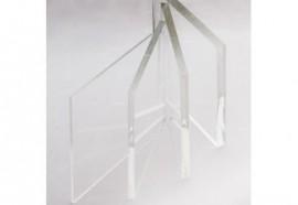 Verre (12 mm) transparent Extra-blanc