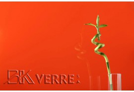 Verre Planilaqué Orange classic  6 mm