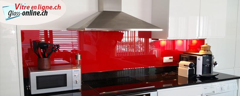 Crédences de cuisine sur mesure en verre laqué !