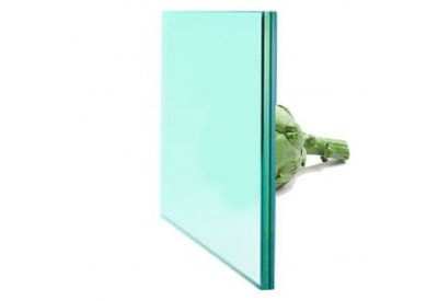 "Laminated glass frosted  ""MAT"" 10.10.4"