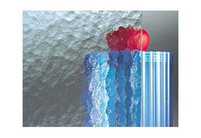 """Verre (4 mm) imprimé """"Cathédrale"""""""