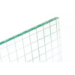 Transparent armed glass (6mm)
