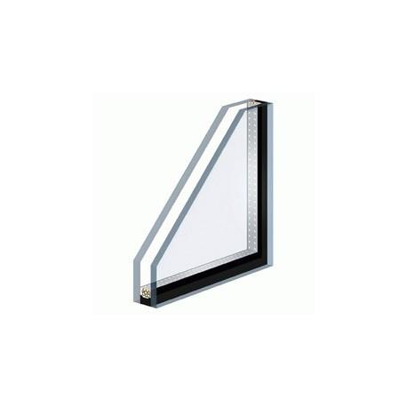 Double vitrage isolant avec une face trempé de sécurité - Vitre en ligne - Glass online