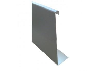 Cache pour profil de balustrade 97.46100, 3000 mm, prix au mètre