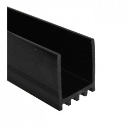Profil polycarbonate pour profil de balustrade