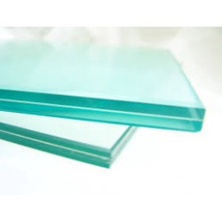 Transparent laminated safety glass 55.2