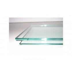 Tablette en verre pour vitrine